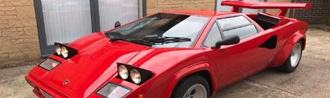 Prova Lamborghini Countach Replica Kits The Most Authentic Countach Kit
